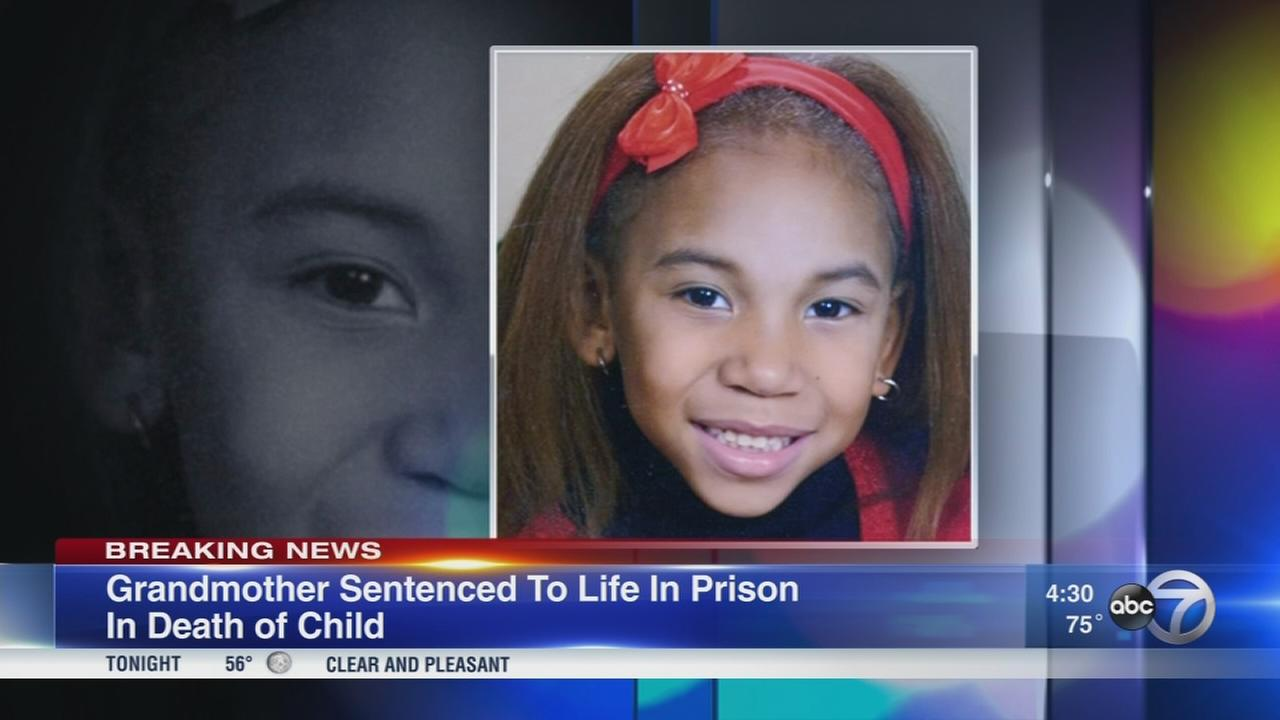 Chicago grandmother gets life in prison in 8-year-old girls death