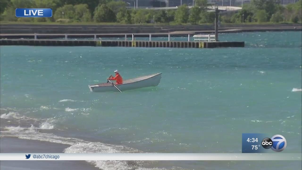Lake Michigan water levels on the rise