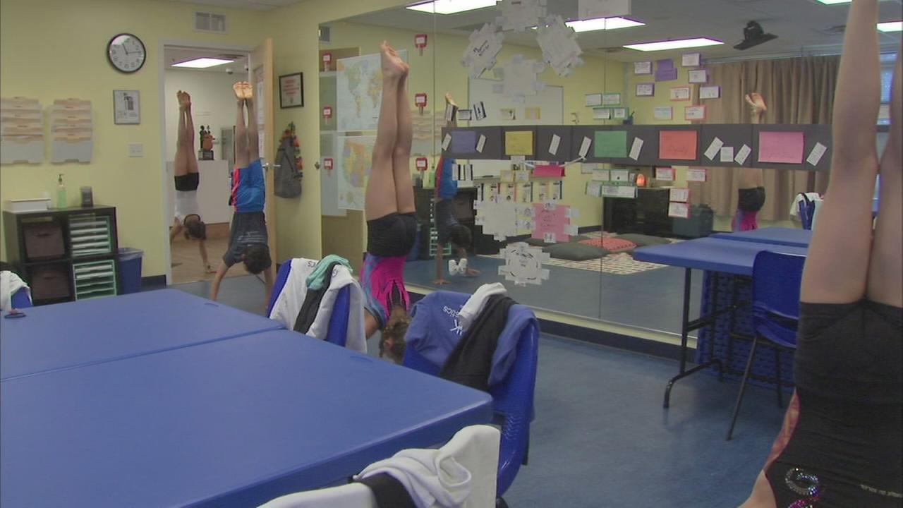 Gymnastics academy balances sport, education
