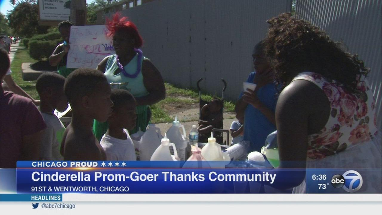 Teen gives back after Cinderella Prom