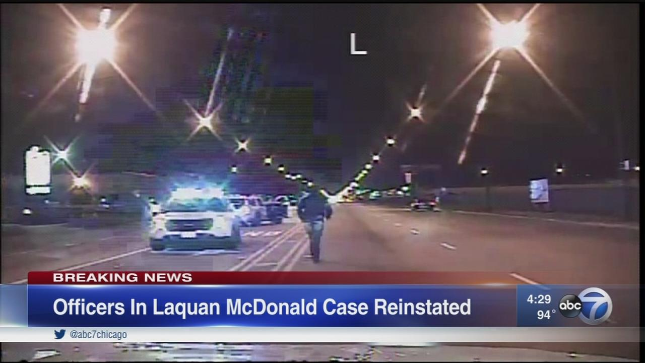 CPD board rules officers involved in McDonald shooting can go back to work
