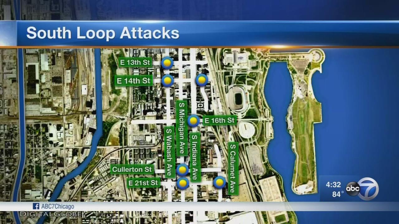 Chicago police beef up patrols after string of robberies