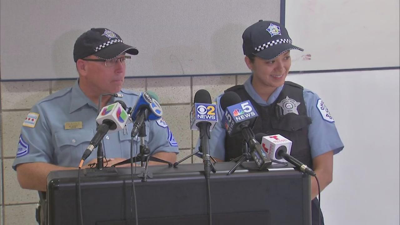 Chicago police save unresponsive premature baby