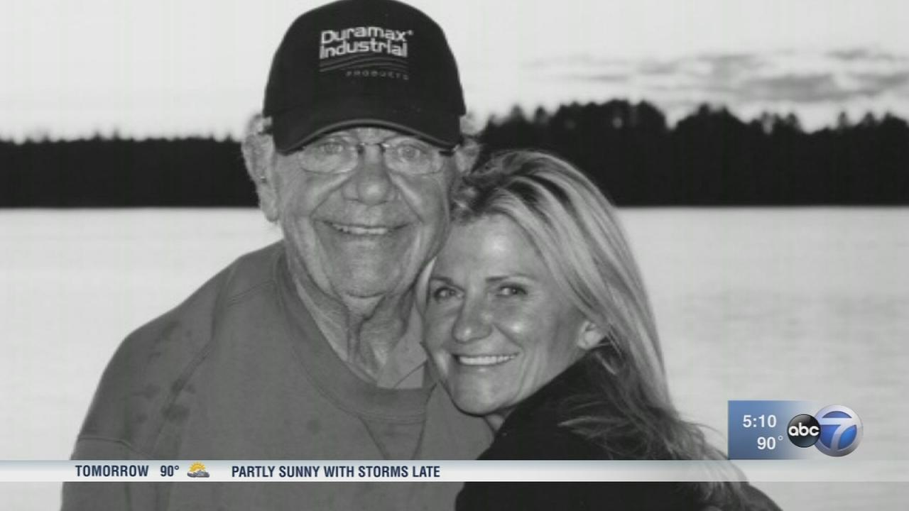 Woman saves her father?s life with AED