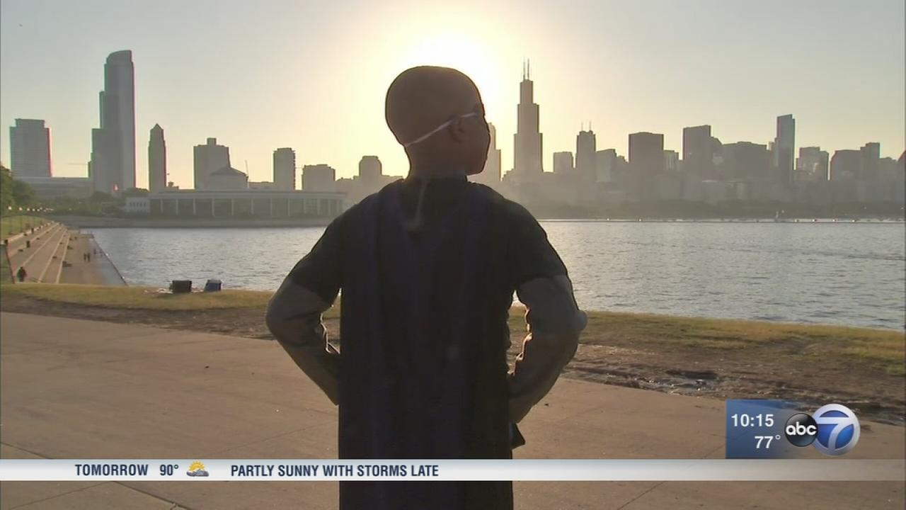 Boy saves Chicago with help from Make-A-Wish