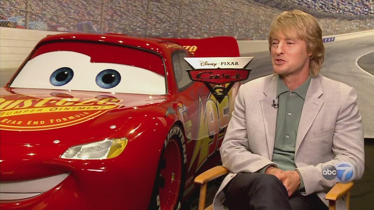 Owen Wilson and Kerry Washington talk Cars 3
