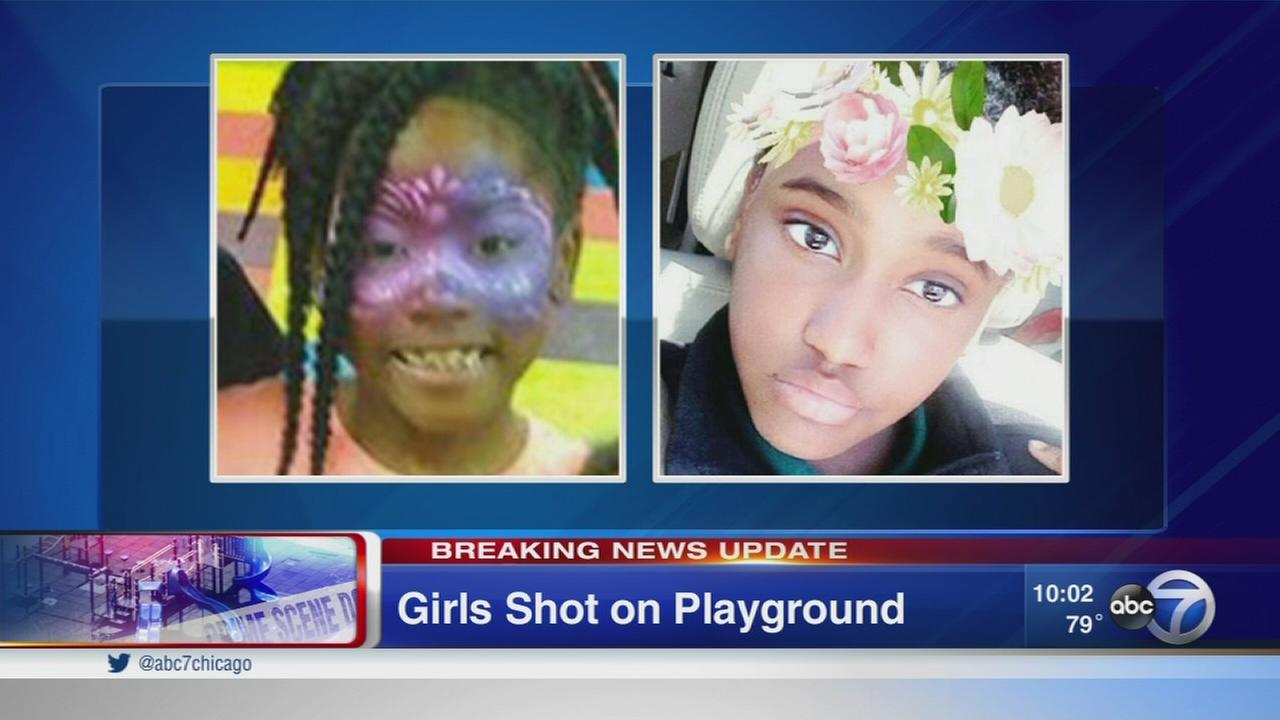 2 young girls shot outside Warren Elementary School in Pill Hill