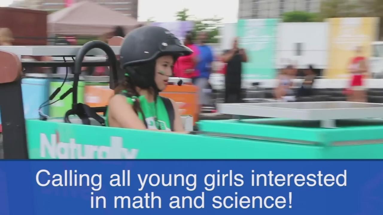 Icebox Derby seeks girls interested in science