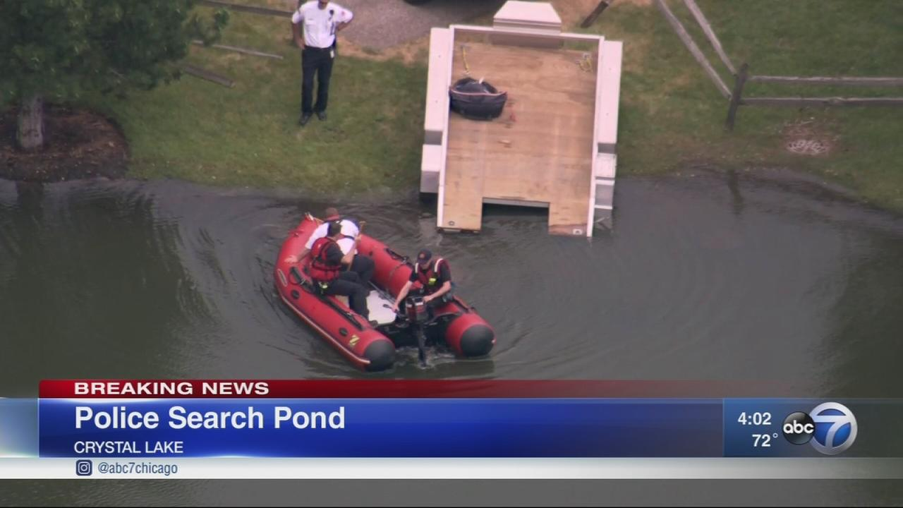 Body found in Crystal Lake retention pond
