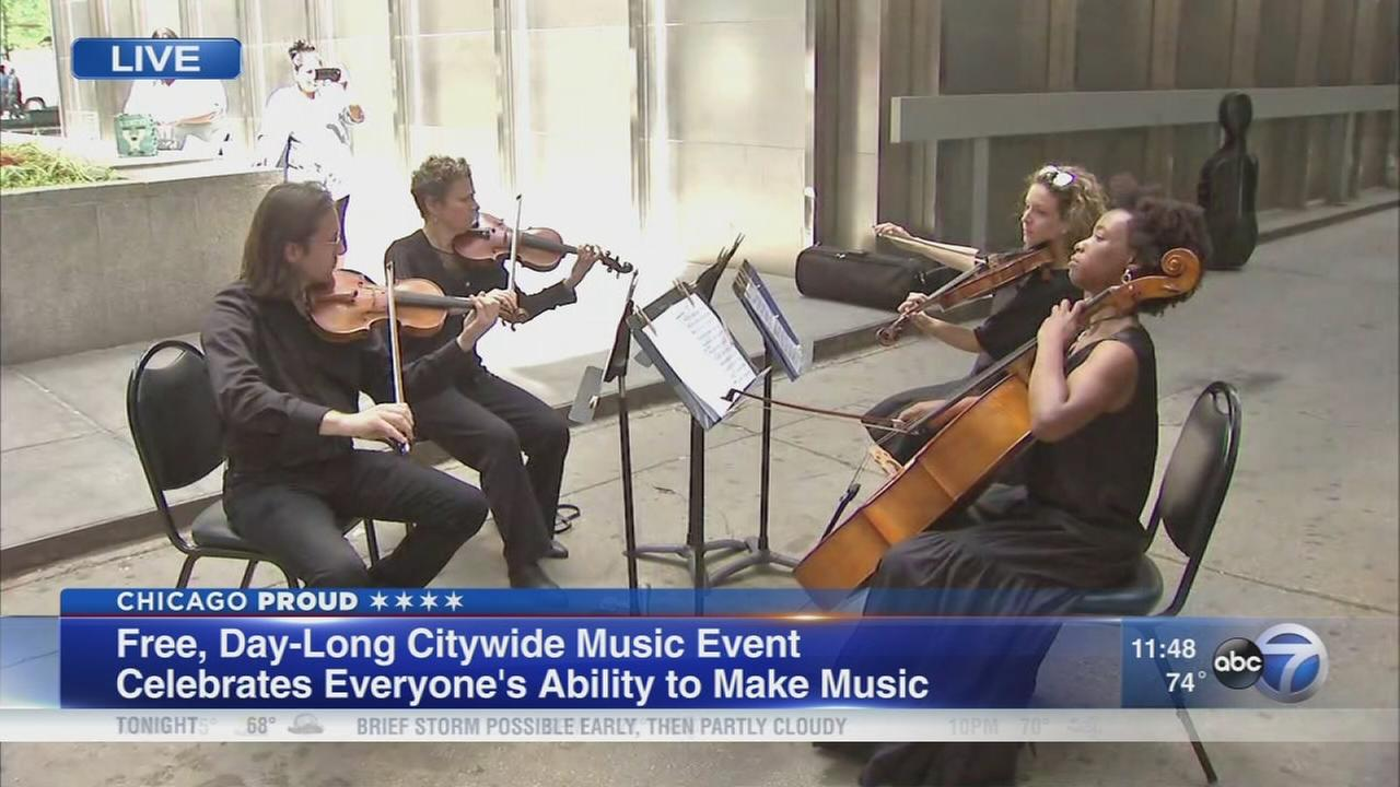 Make Music Chicago features free citywide music