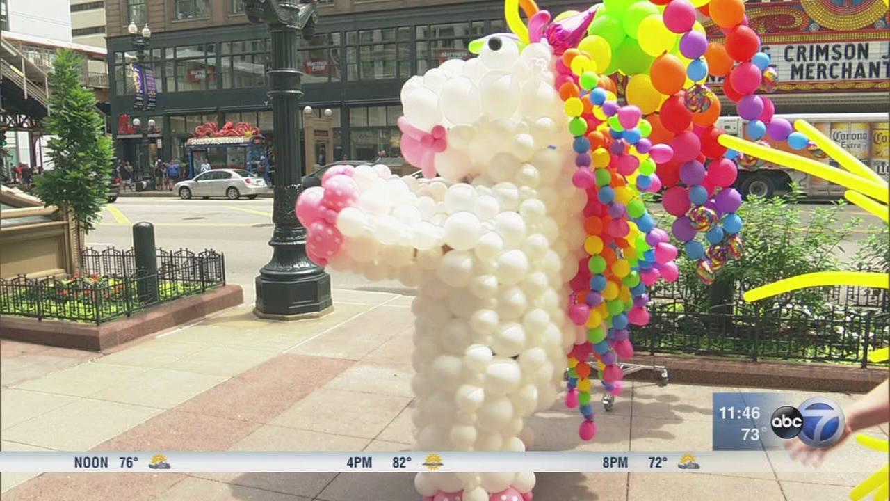 Conrad the Unicorn to return for the 48th Annual Pride Parade