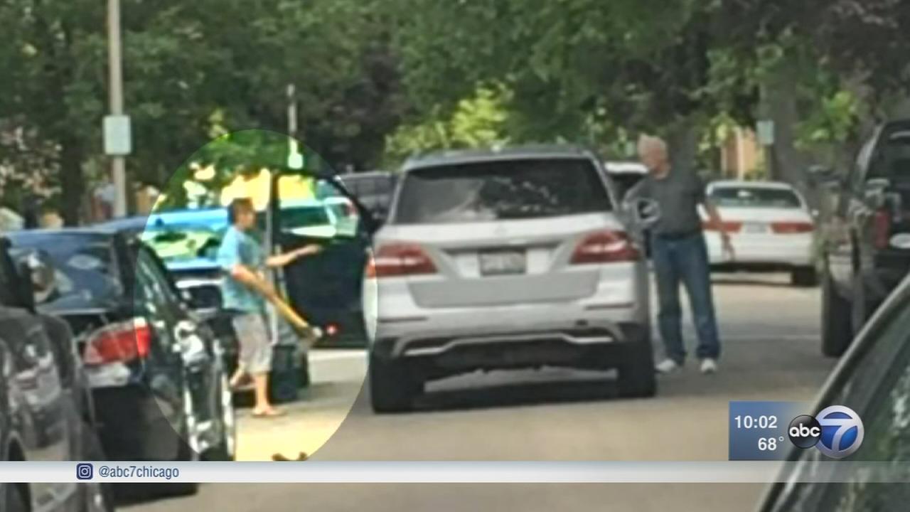 15 cars damaged by ax-wielding man in Berwyn