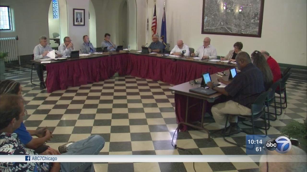 Hillside residents question village officials on red light camera money