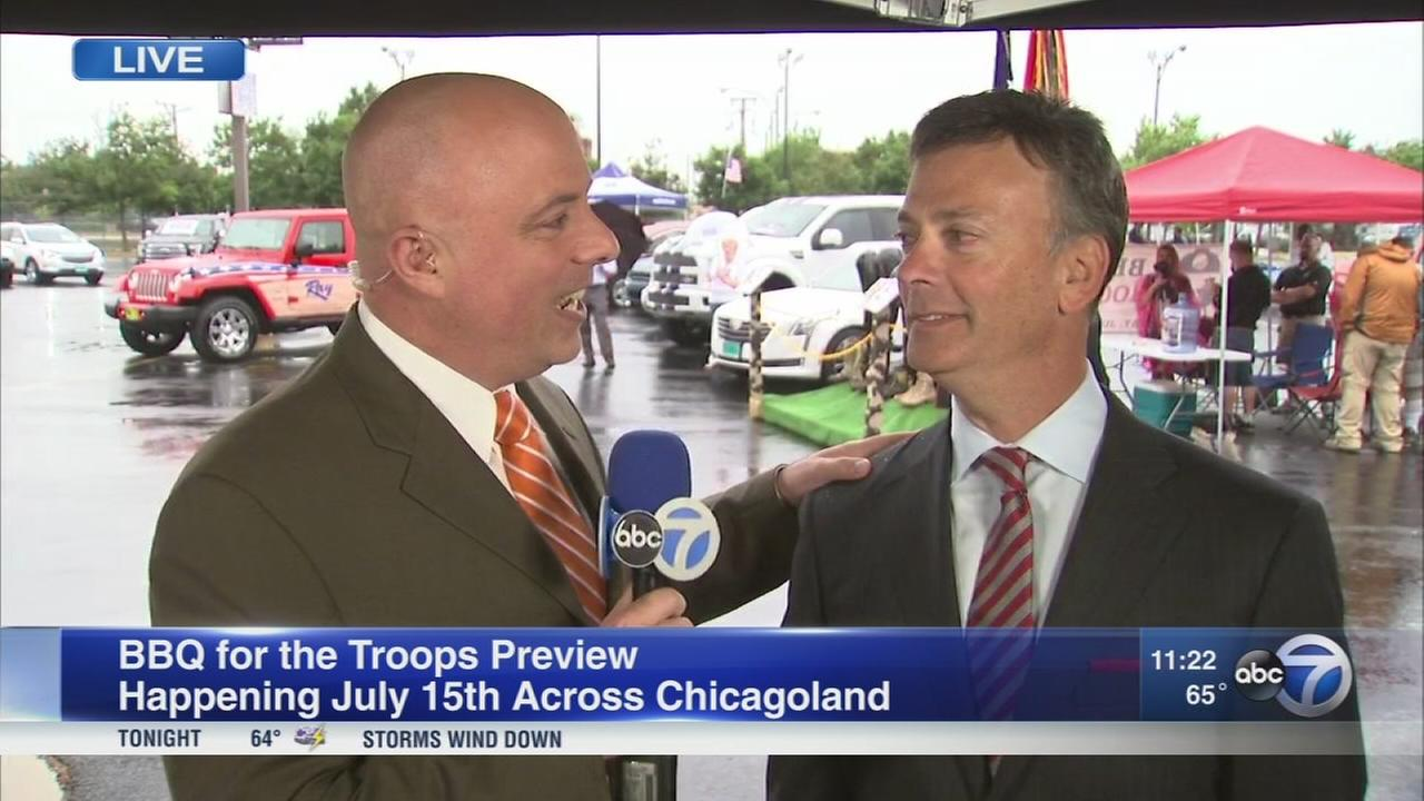 BBQ for the Troops Preview at United Center