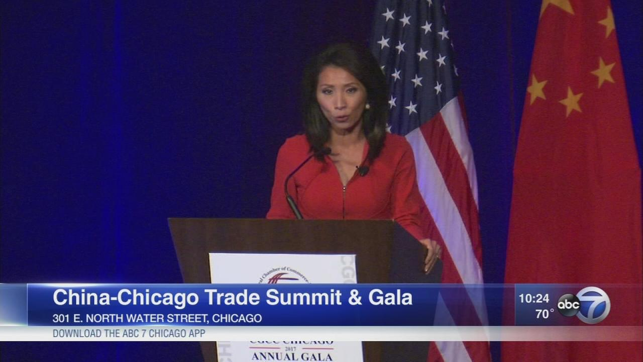 Gala ends economic summit between Chicago and China