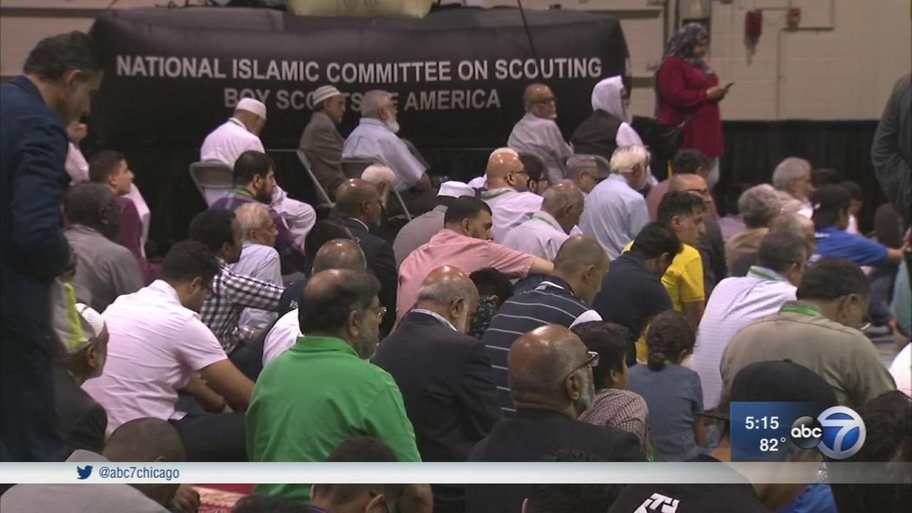 Largest gathering of Muslims in North America