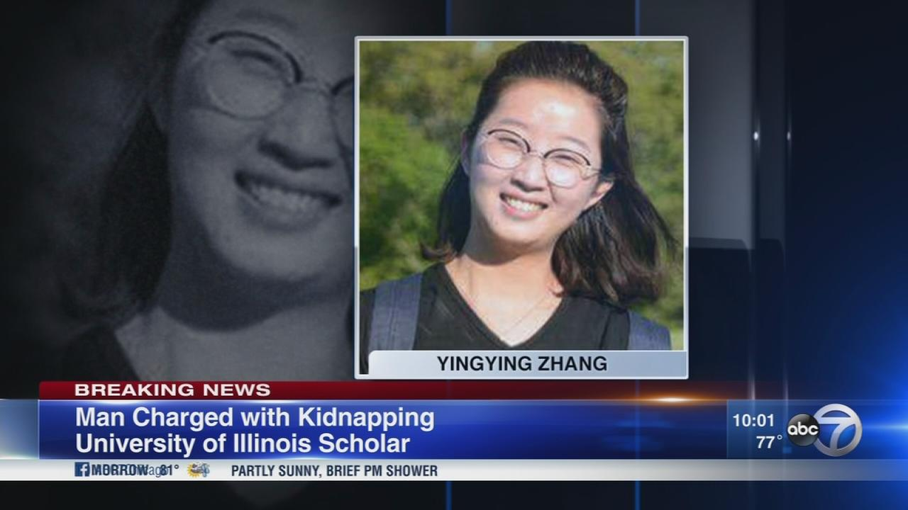 Champaign man arrested, charged with kidnapping missing University of Illinois scholar