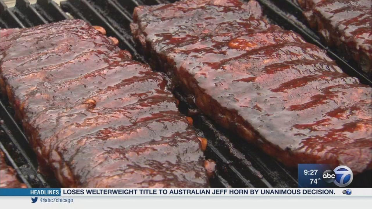 Satisfy your appetite at the Naperville Ribfest: