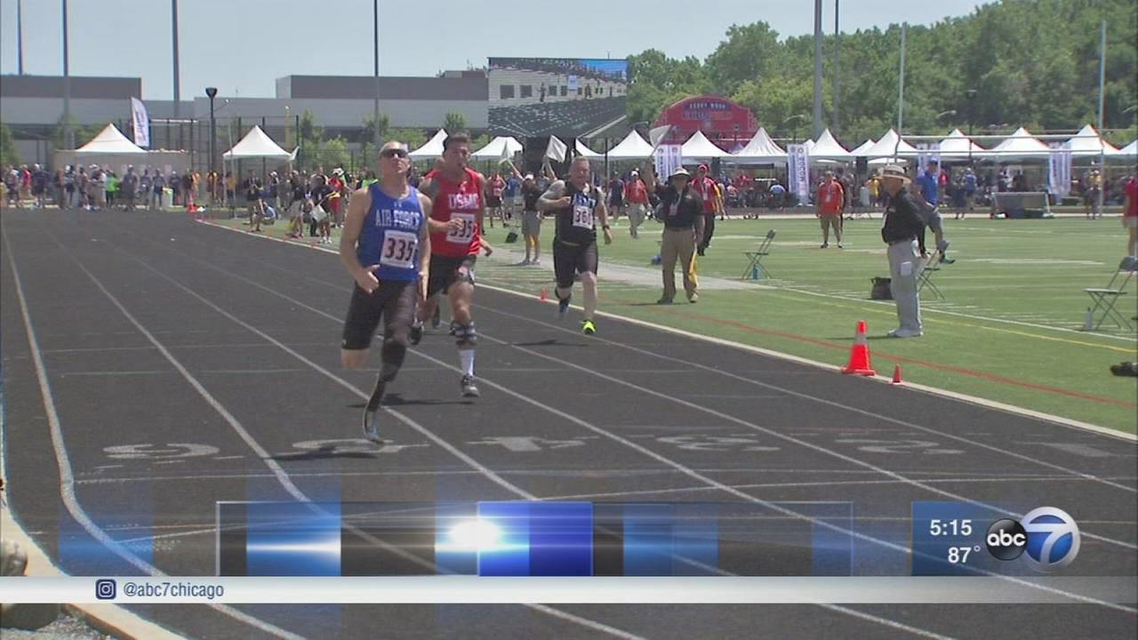 Warrior Games continues in Chicago