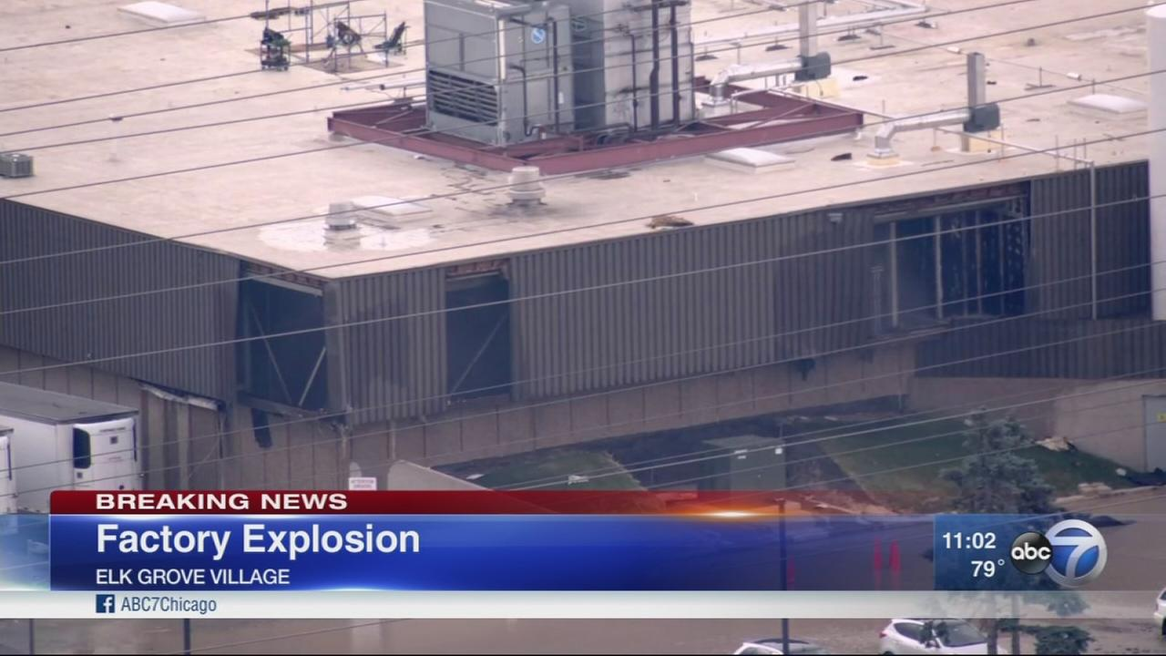 Explosion at Elk Grove food plant
