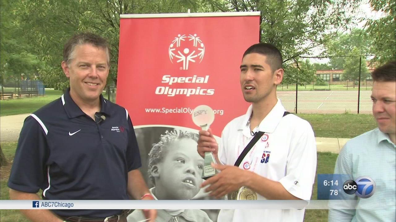 Mt. Greenwood Special Olympian to receive Espy Award