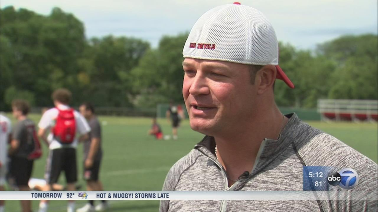 Hinsdale HS coach rebounded from addiction to mentor students