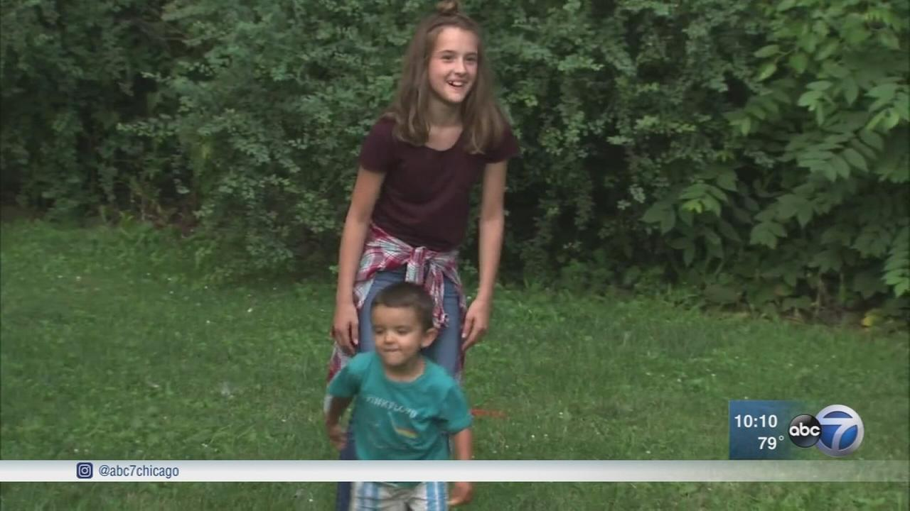 Portage teens quick thinking saves toddler at pool party
