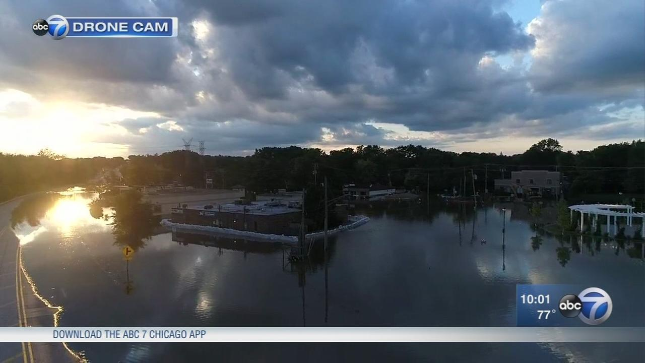 Flood concerns continue as Des Plaines River continues to rise