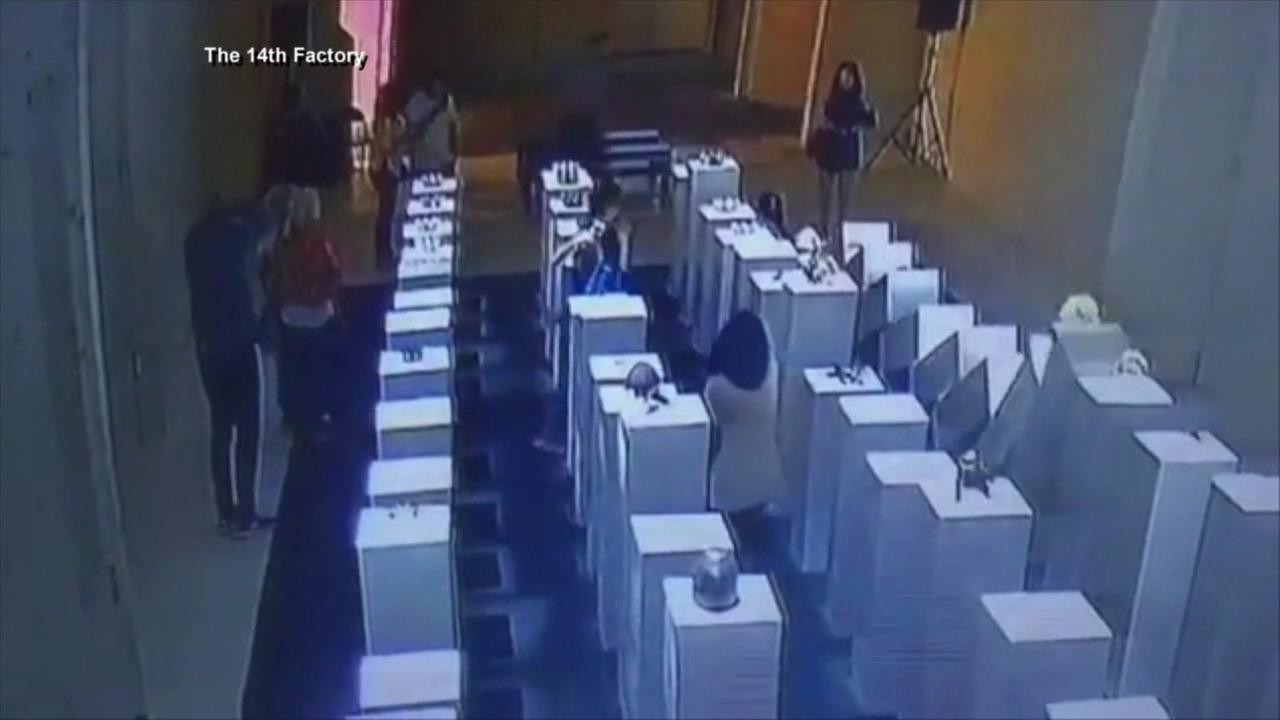 Gallery patron does $200K in damage trying to take selfie