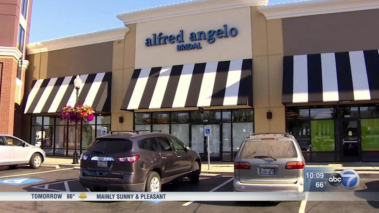 Alfred Angelo bridal shop