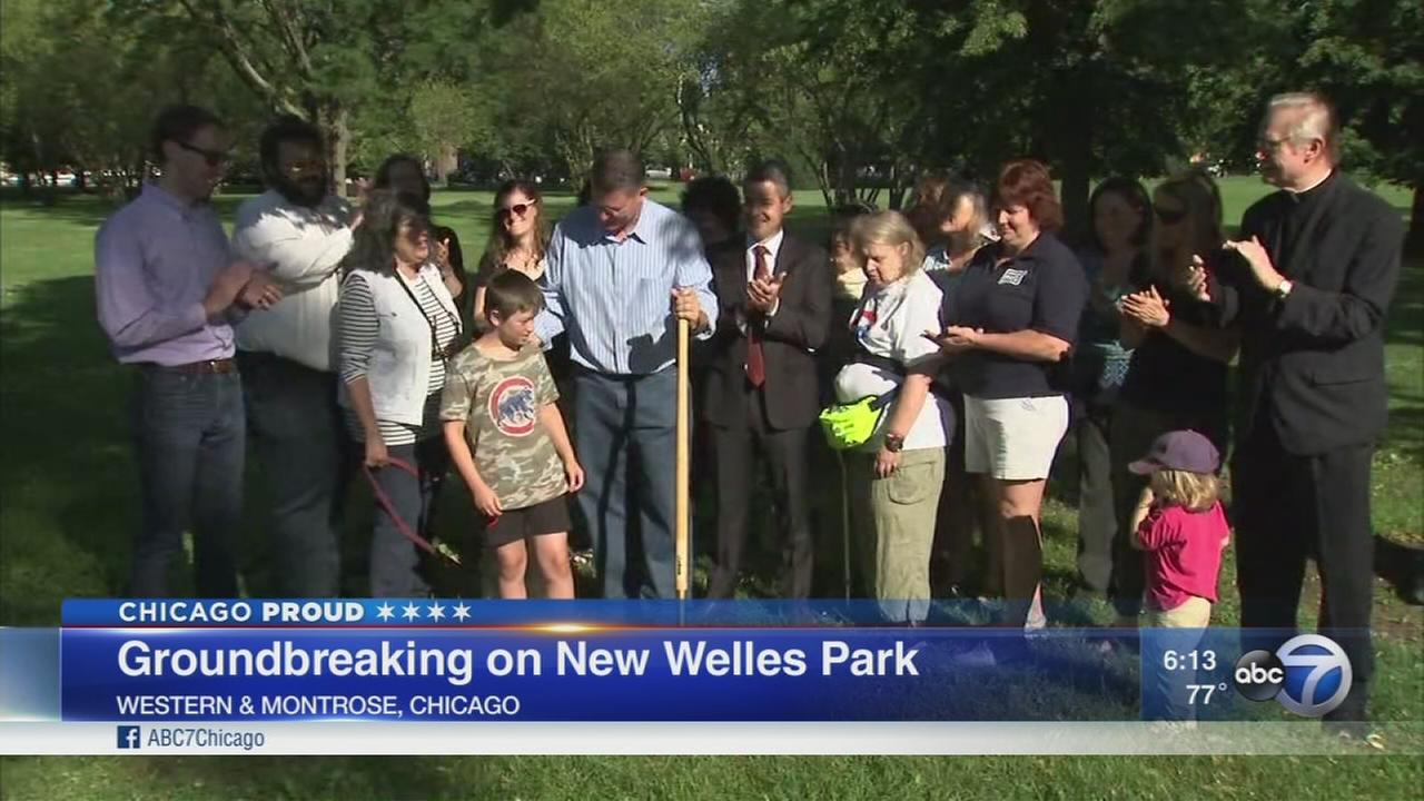 Group breaks ground on new Welles Park