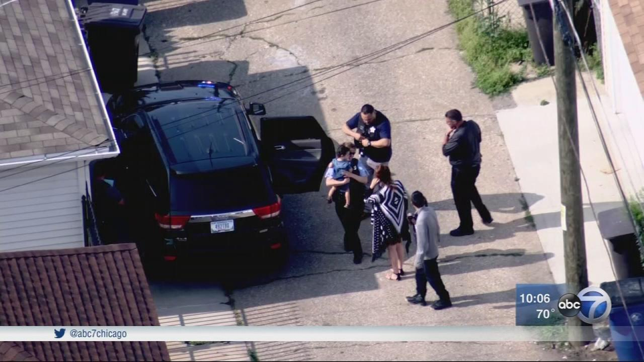 Child recovered from stolen vehicle in Cicero