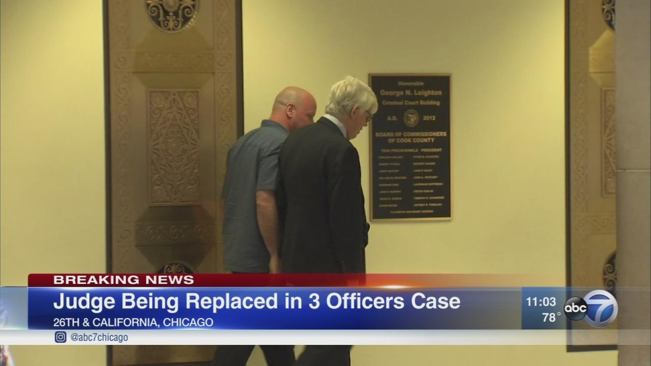 Judge replaced in McDonald cover up case