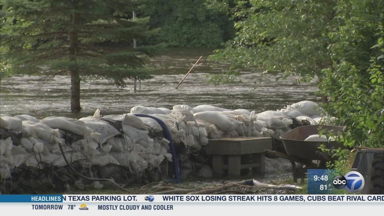 Newsviews Part1: Cleaning up after flooding
