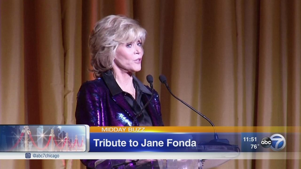 Jane Fonda to be honored at Chicago event