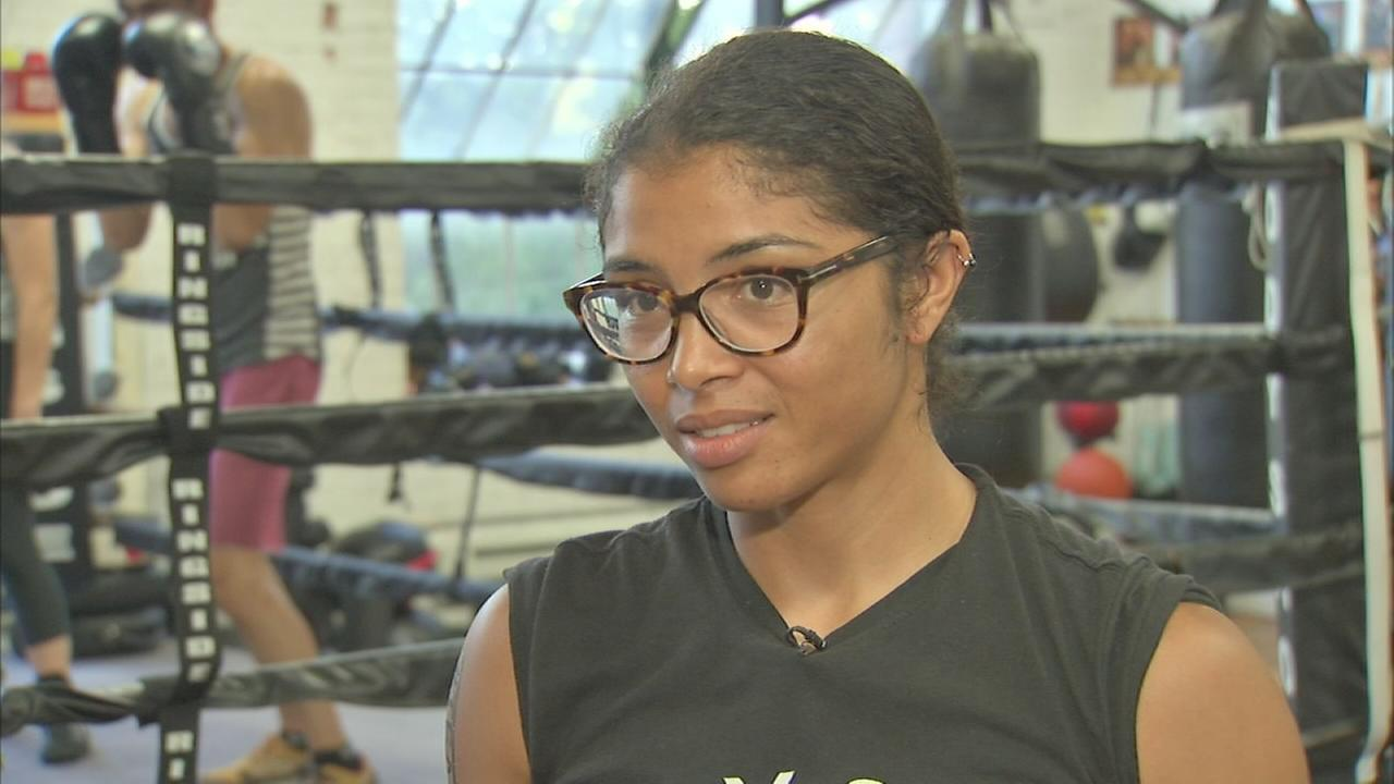 Female Chicago boxer prepares for major bout