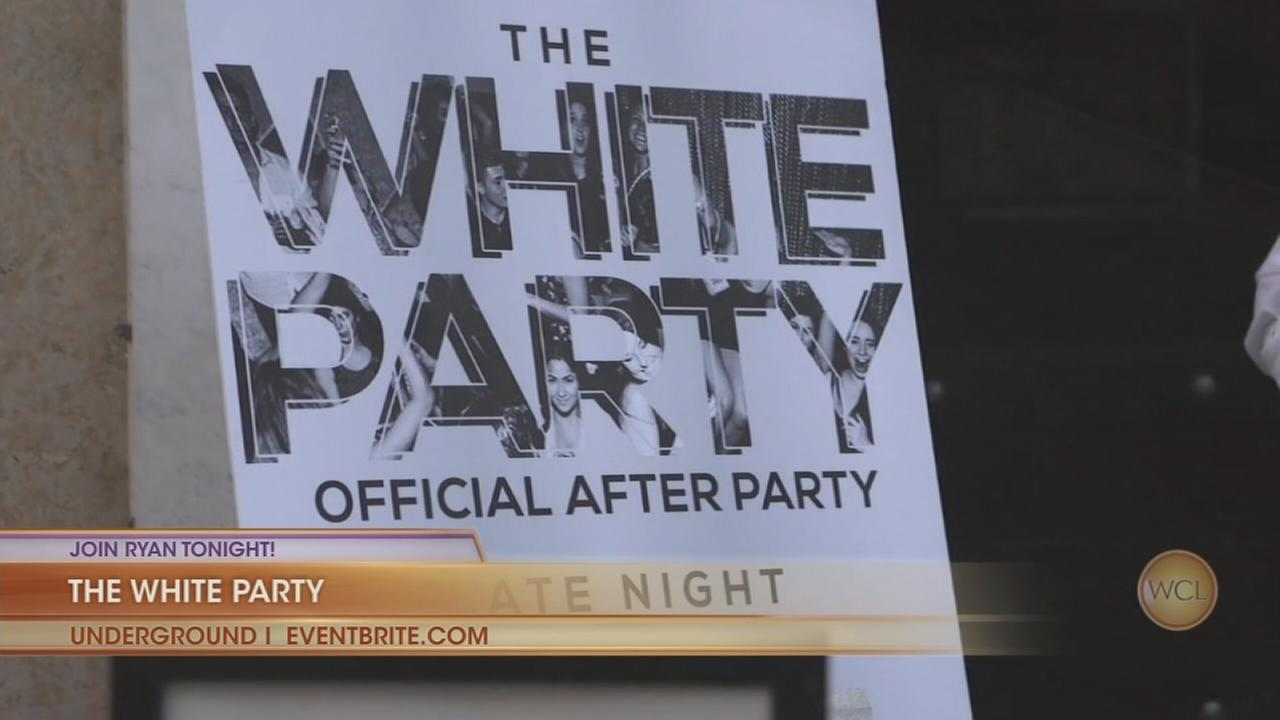 Ryan joins One Hope United benefit White Party at Underground