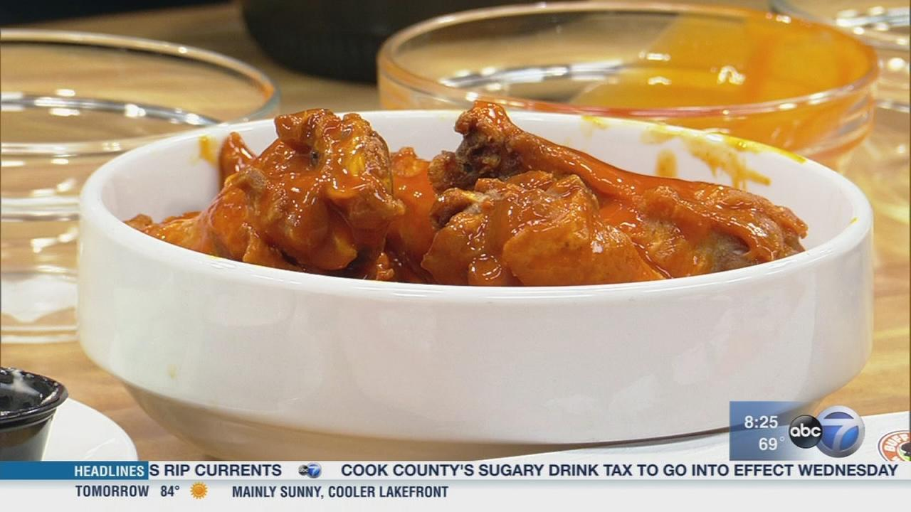 Eat up during National Chicken Wing Day