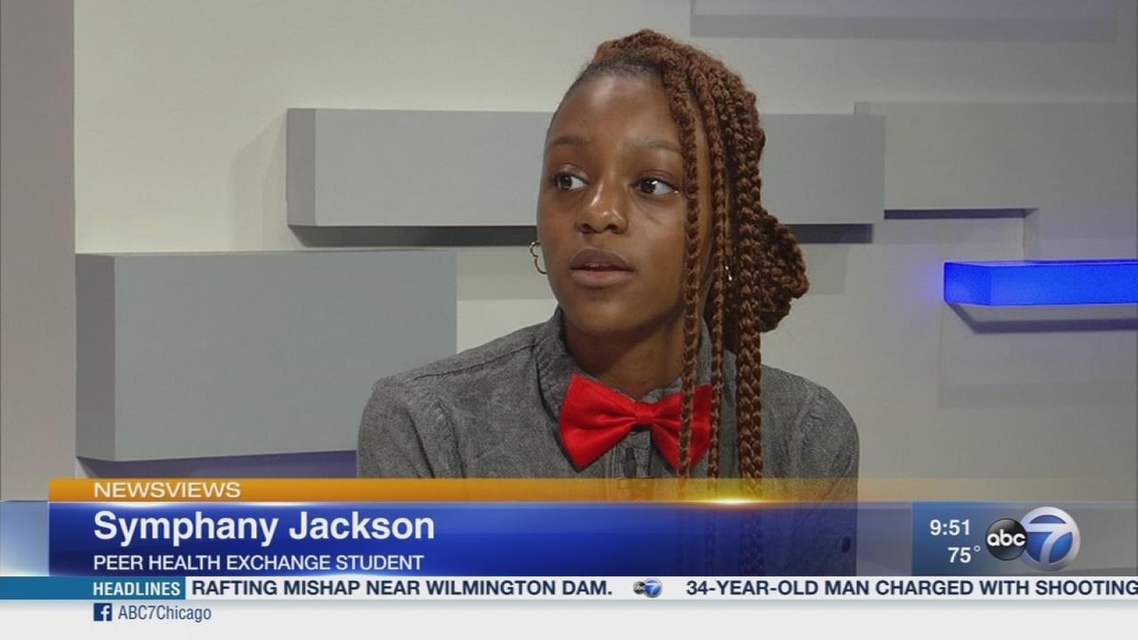 Newsviews Part 2: Peer Health Exchange helps teens