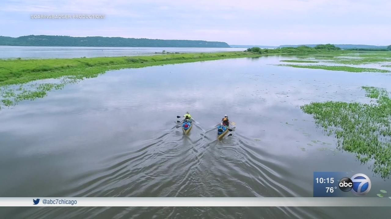 Retired reporter Paul Meincke paddles Mississippi River to Gulf of Mexico