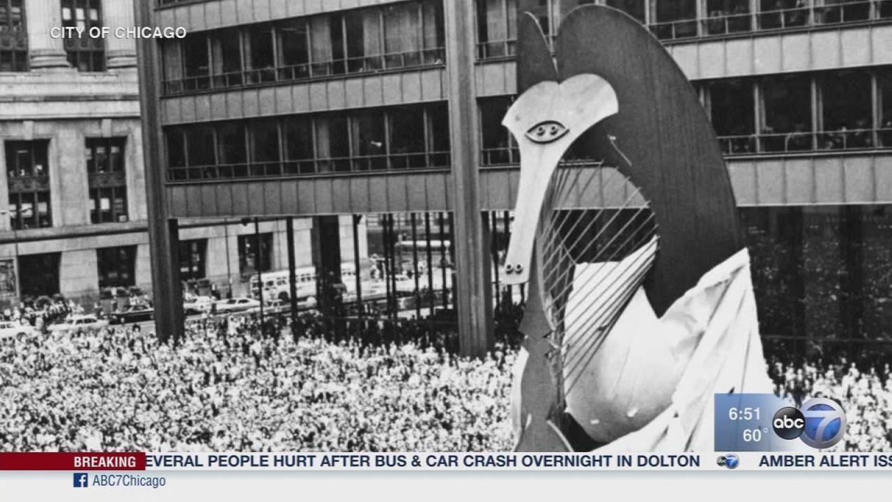 Chicago?s Picasso Sculpture celebrates 50th anniversary