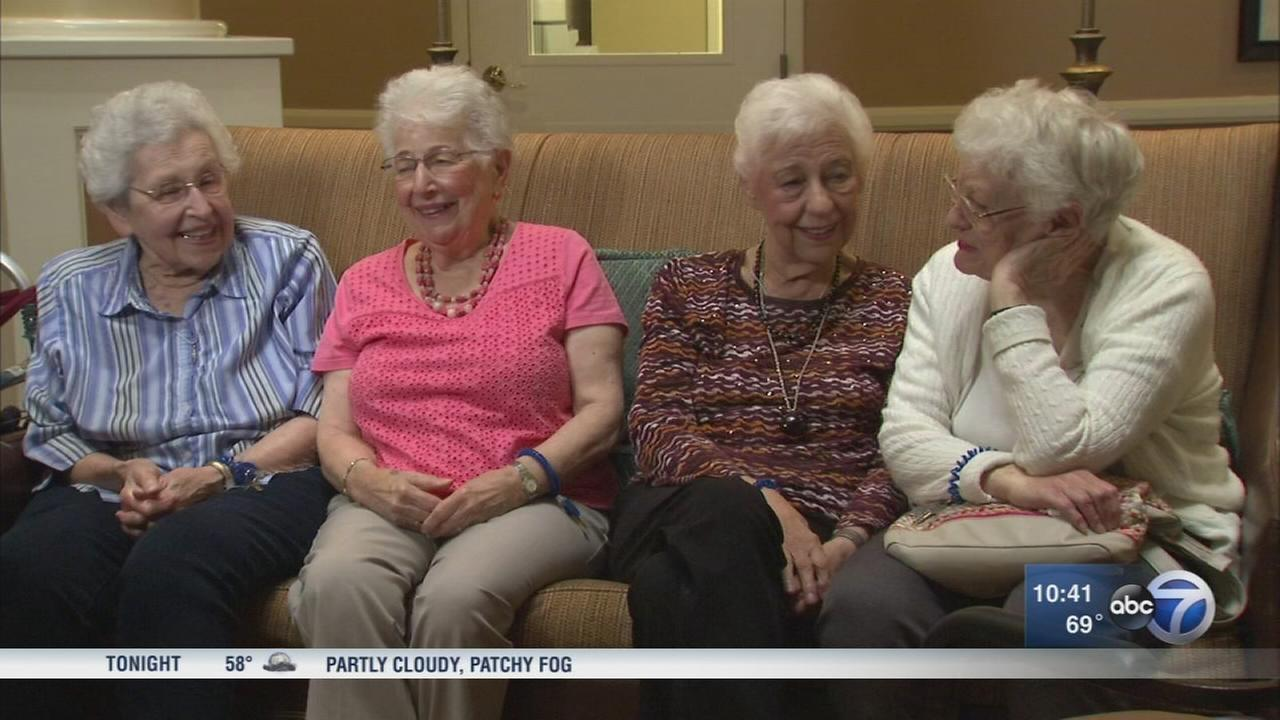 Friends of 74 years celebrate National Friendship Day