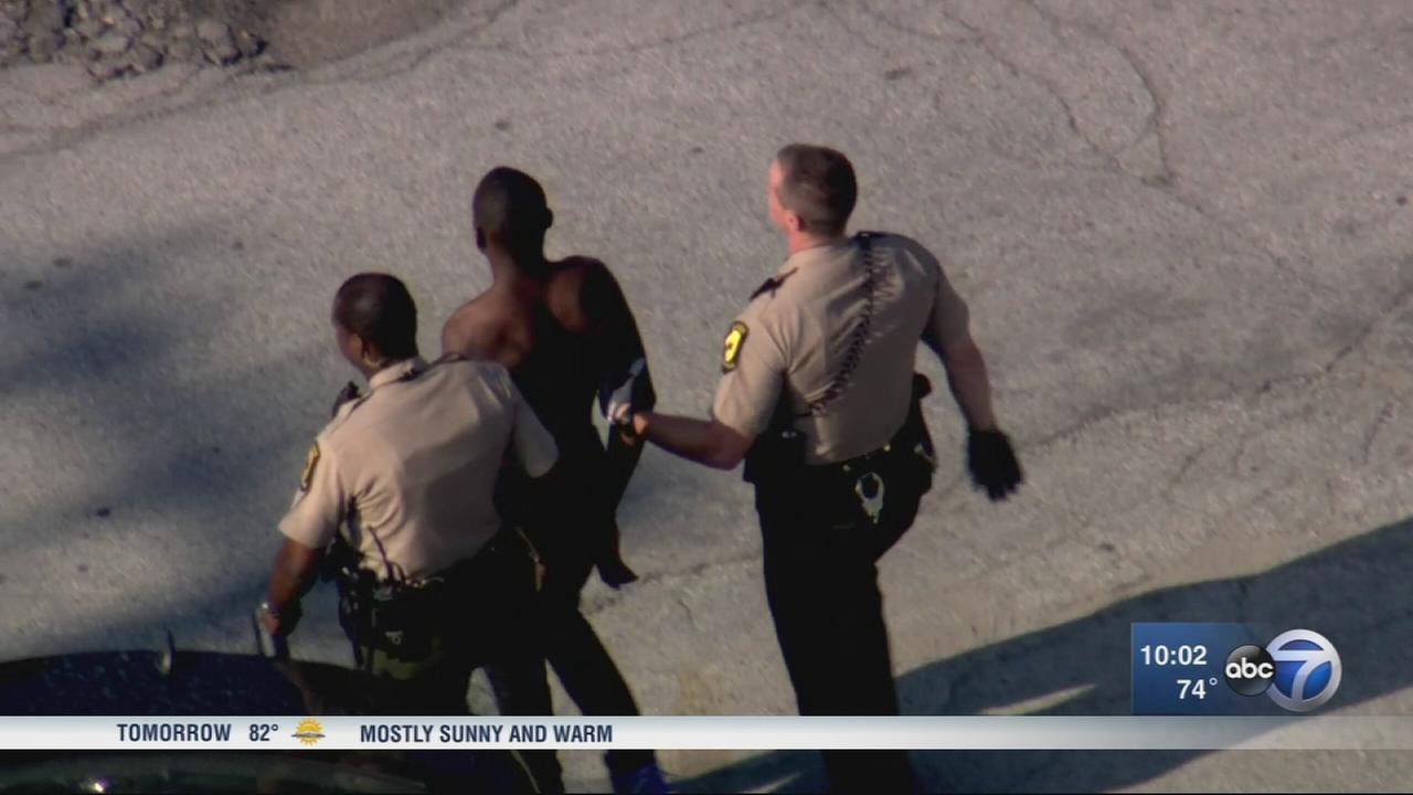 1 dead, 1 in custody in police-involved shooting on Bishop Ford