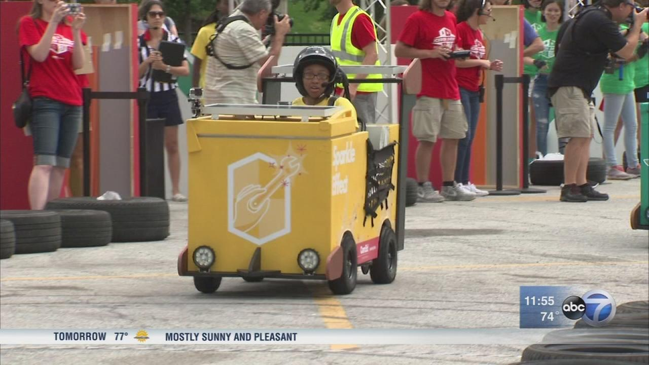 Icebox Derby at Daley Plaza