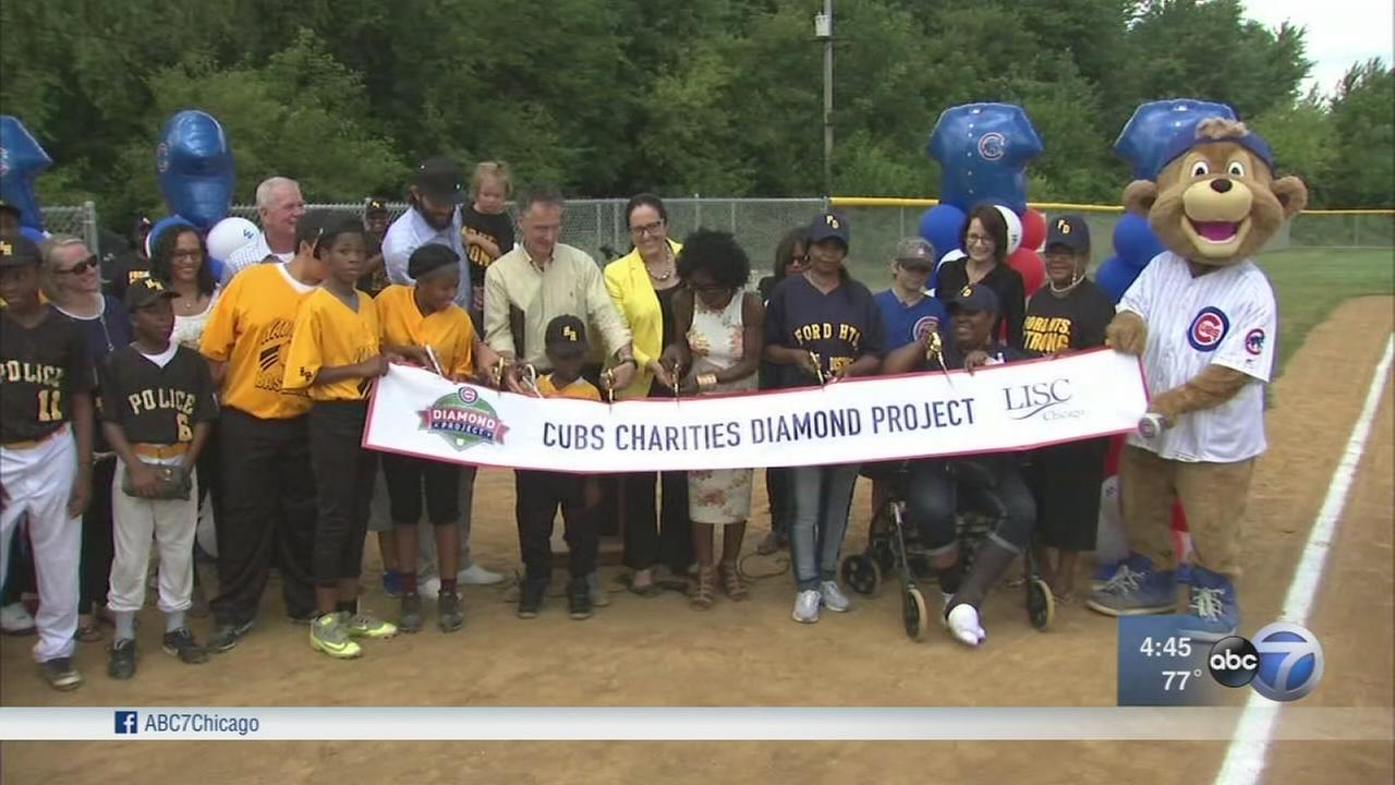 Ford Heights opens first youth baseball field