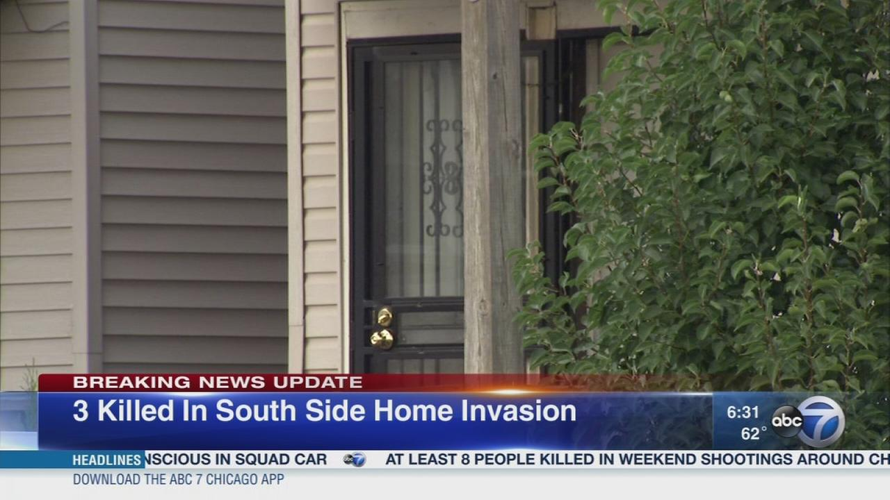 3 killed in South Side home invasion