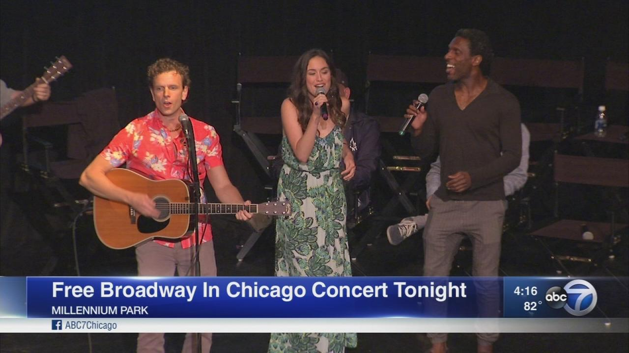 Broadway in Chicago returns with free summer concert