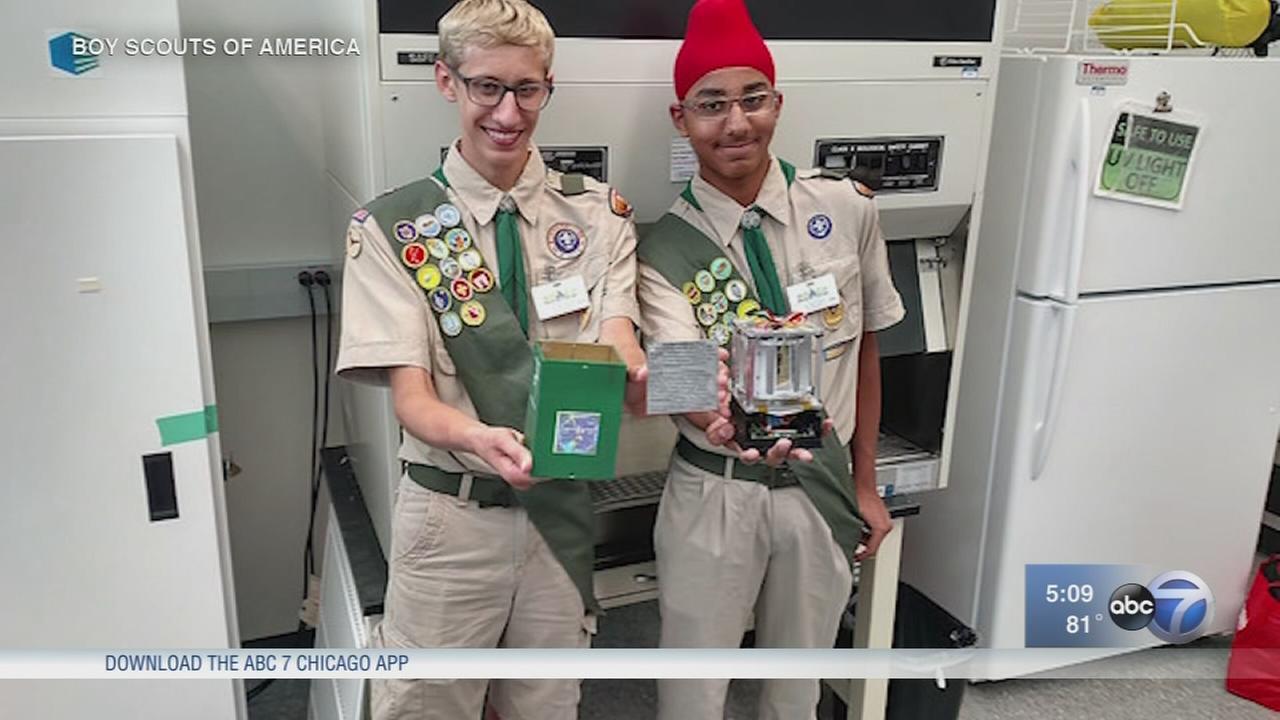 Boy Scout experiment