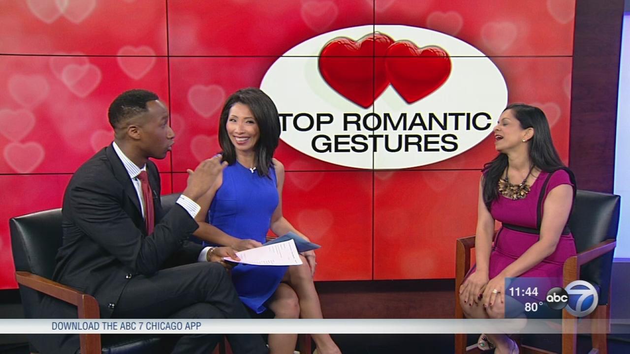 Top 5 romantic gestures