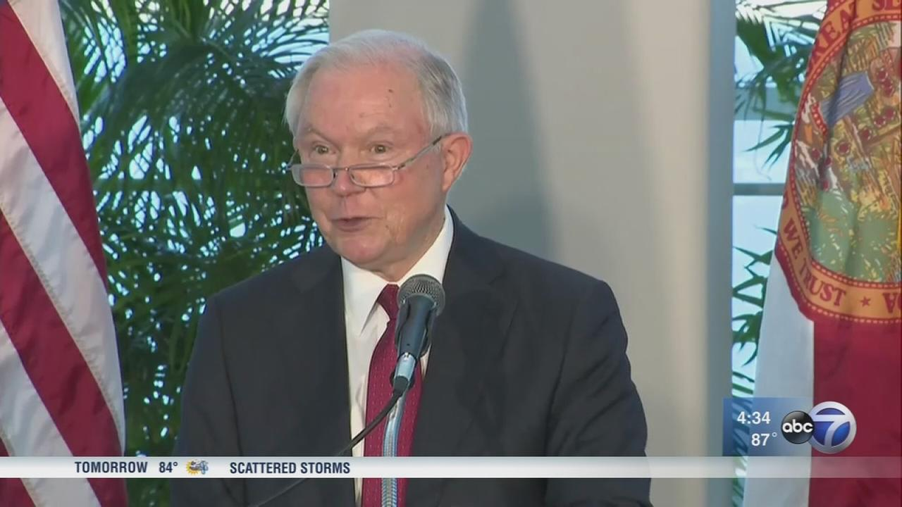 Sessions blasts Chicago and sanctuary cities, calls Miami good example